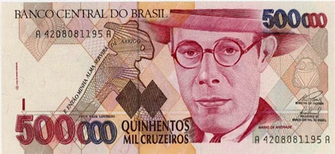 500,000 Cruzeiros, Brazil